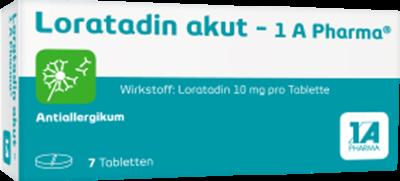 Loratadin akut-1A Pharma