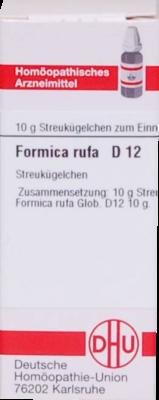FORMICA RUFA D 12 Globuli