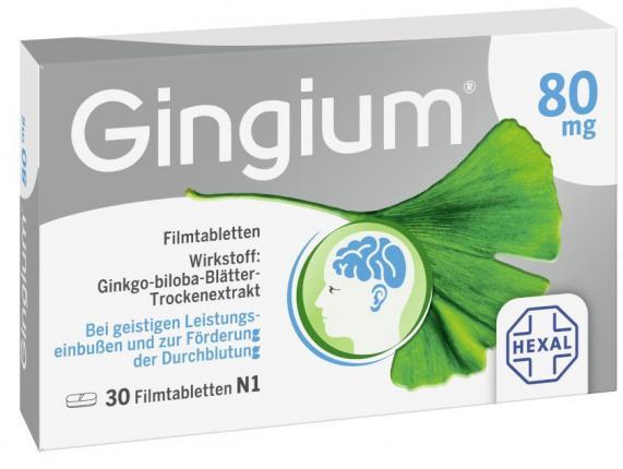 Gingium 80 mg