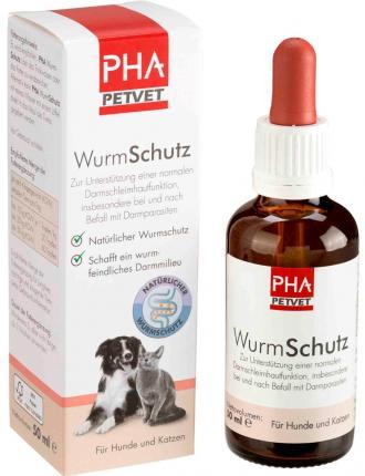 PHA Wurm Schutz flüssig für Hunde und Katzen