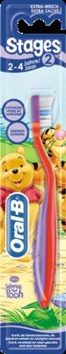 ORAL B Stages 2 Kinderzahnbürste 2-4 Jahre