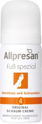 Allpresan Fuß spezial Original Nr. 4 Schaum-Creme Hornhaut & Schrunden