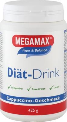 MEGAMAX Diät Drink Cappuccino Pulver