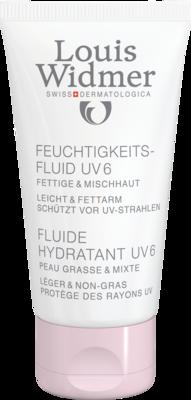 WIDMER Feuchtigkeitsfluid UV6 leicht parfümiert