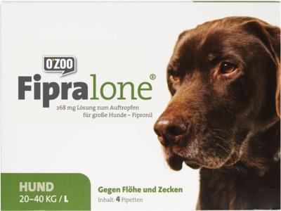 Fipralone 268mg Lösung zum Auftropfen für große Hunde