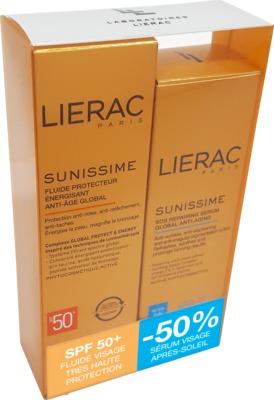 LIERAC Sunissime Gesicht LSF 50+ Set 40ml+30ml