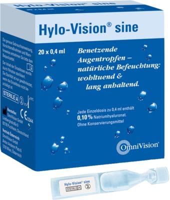 HYLO-VISION sine Einzeldosispipetten