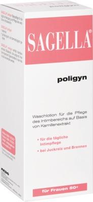 SAGELLA poligyn Intimwaschlotion für Frauen 50+