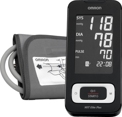 OMRON MIT Elite Plus Oberarm BMG m.PC SC