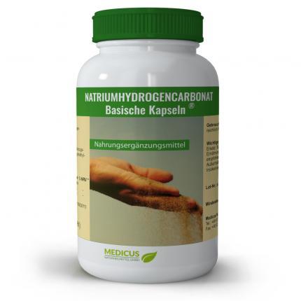 Natriumhydrogencarbonat Basische Kapseln