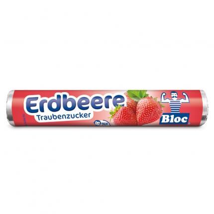 BLOC Traubenzucker Erdbeere Rolle