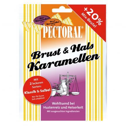 Pectoral Brust & Hals Karamellen Mix-beutel