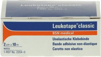 LEUKOTAPE Classic 2 cmx10 m weiß