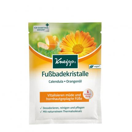 KNEIPP Fußbadekristalle Calendula-Orangenöl