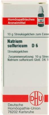NATRIUM SULFURICUM D 6 Globuli