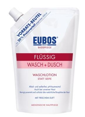 EUBOS BASISPFLEGE FLÜSSIG WASCH+DUSCH WASCHLOTION Nachfüllbeutel