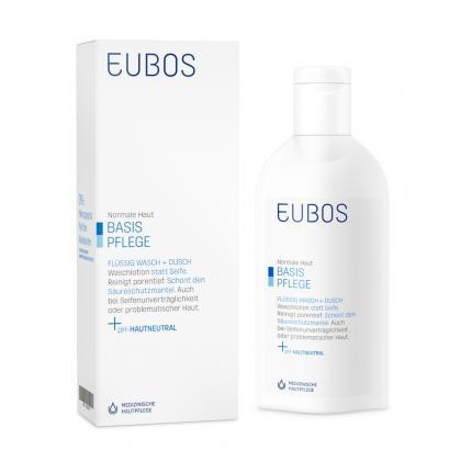 EUBOS FLÜSSIG blau unparfümiert