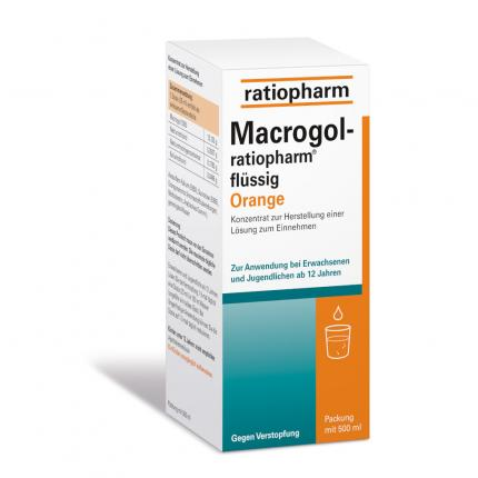 MACROGOL ratiopharm flüssig Orange