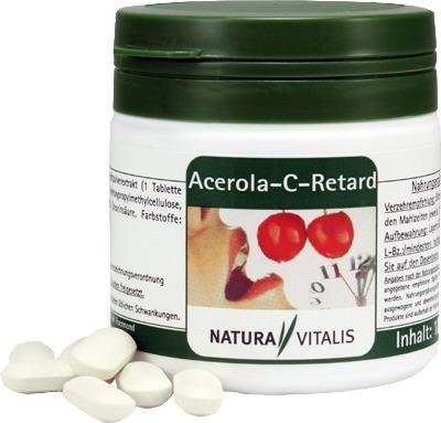 NATURA VITALIS Acerola-C-Retard Presslinge