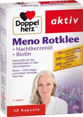 Doppelherz Meno Rotklee+Nachtkerzenöl+Biotin Kapseln