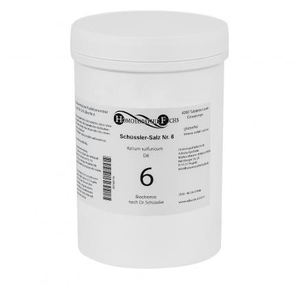 HOMOEOPATHIEFUCHS Schüssler-Salz Nummer 6 Kalium sulfuricum D6 Biochemie