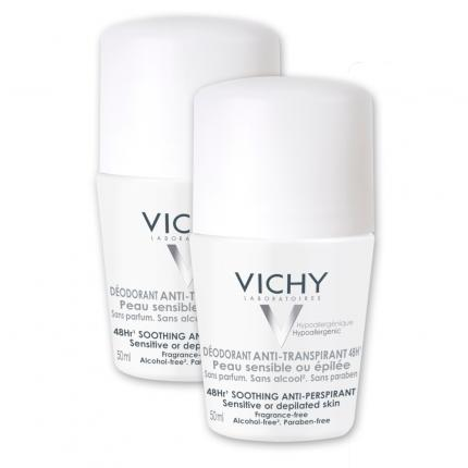 VICHY DEO Roll-On Sensitiv 48h Doppelpackung