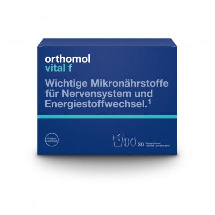 orthomol vital f 30 Granulat/Kapseln Kombipackung