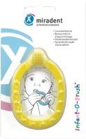 MIRADENT Kinder-Lernzahnbürst.Infant-O-Brush gelb