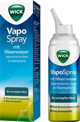 WICK VapoSpray mit Meerwasser, hypertonisch