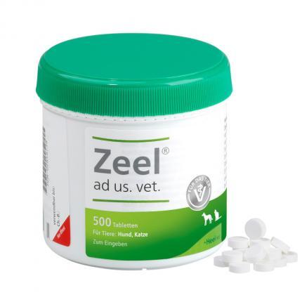 ZEEL ad us.vet. Tabletten für Hunde und Katzen