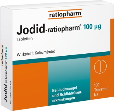 Jodid-ratiopharm 100μg