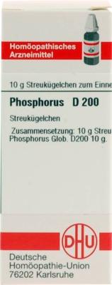 PHOSPHORUS D 200 Globuli
