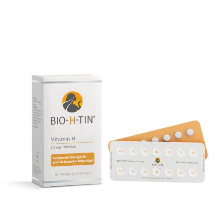 BIO-H-TIN Vitamin H 2,5 mg für 12 Wochen Tabletten