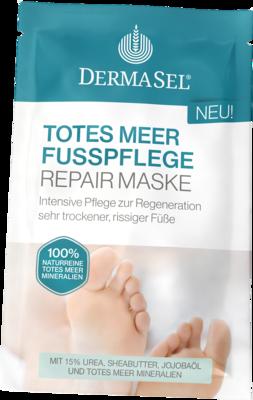 DERMASEL Fußpflege Maske
