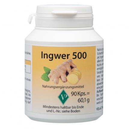 INGWER 500 Kapseln
