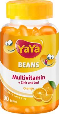 YAYA BEANS Orange Zink und Jod Kaudragees