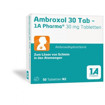 Ambroxol 30 Tab - 1A Pharma