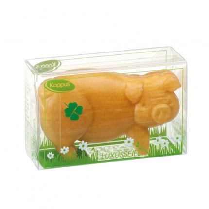 KAPPUS Schwein gold Seife