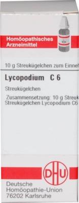 LYCOPODIUM C 6 Globuli