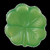 KAPPUS Gästeseife Kleeblatt grün