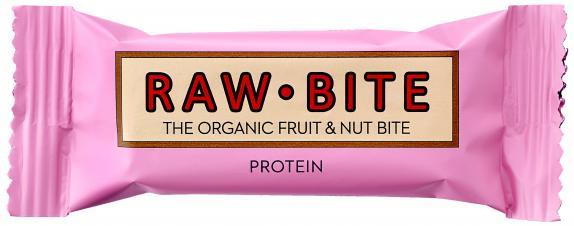 Raw Bite Bio Riegel Protein