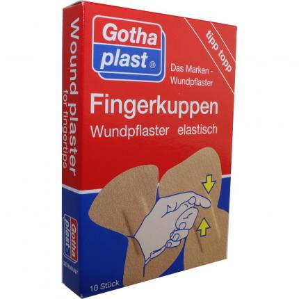 Gothaplast Fingerkuppenwundpfl.elastisch 2 Größen