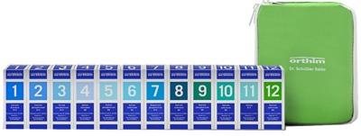 BIOCHEMIE Orthim Haus/Reiseapo.1-12 12x15g Globuli