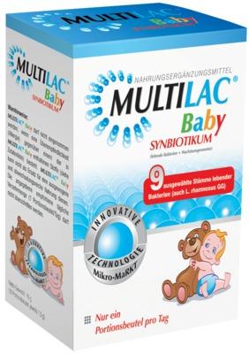 MULTILAC Baby Synbiotikum Portionsbeutel