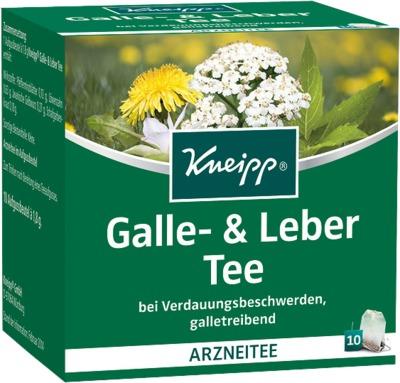 KNEIPP Tee Galle und Leber Filterbeutel