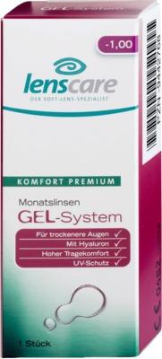 LENSCARE GEL-System Monatslinse -3,00 dpt