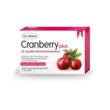 Dr. Böhm Cranberry plus
