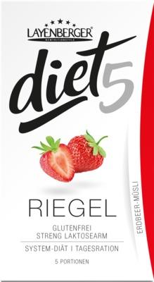 LAYENBERGER diet5 RIEGEL ERDBEER-MÜSLI