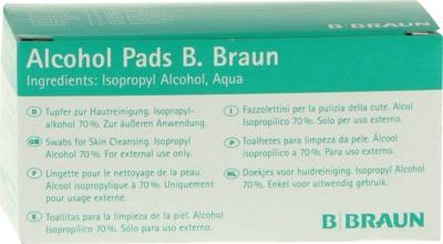 Alcohol Pads B Braun Tupfer