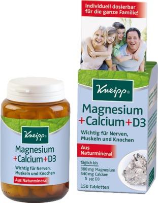 KNEIPP Magnesium+Calcium Tabletten